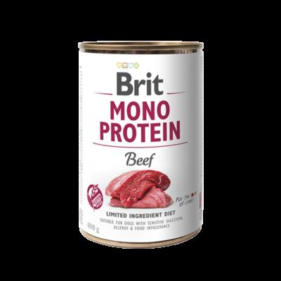 Brit Mono Protein - Beef - 400 g | Kutyatáp24