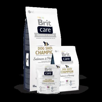 Brit Care Dog Show Champion - 1 kg | Kutyatáp24