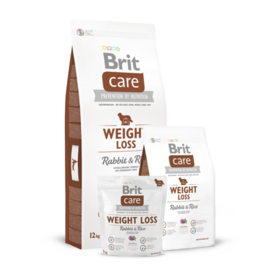 Brit Care Weight Loss Rabbit and Rice - 1 kg | Kutyatáp24