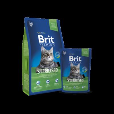Brit Premium Cat Sterilised 800 g | Kutyatáp24
