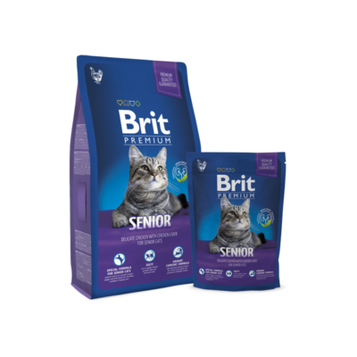 Brit Premium Cat Senior 800 g | Kutyatáp24