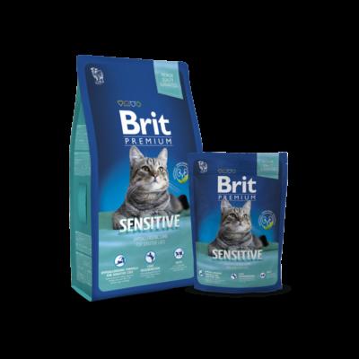 Brit Premium Cat Sensitive 800 g | Kutyatáp24