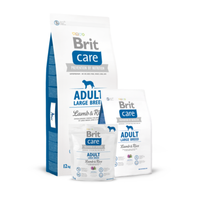 Brit Care Adult Large Breed Lamb and Rice 1 kg | Kutyatáp24