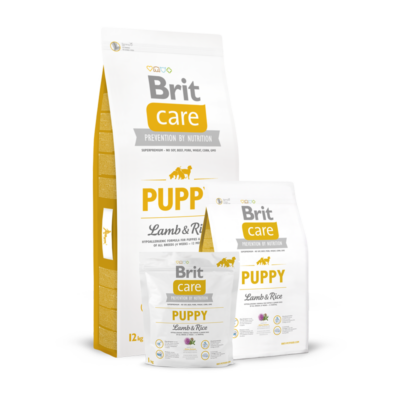 Brit Care Puppy Lamb and Rice 1 kg   Kutyatáp24