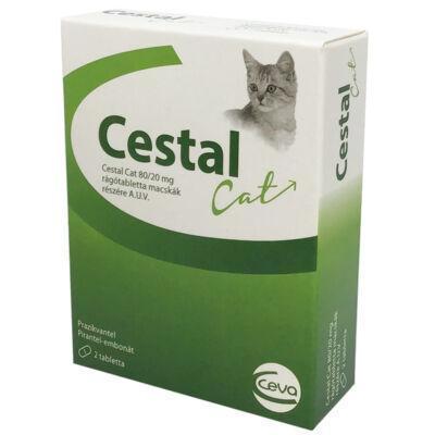 CESTAL CAT rágótabletta 2 tabletta