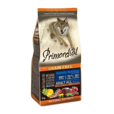 Primordial Grain Free - Adult Bárány és Tonhal - 2 kg | Kutyatáp24