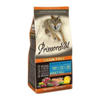 Primordial Grain Free - Adult mini Kacsa és Pisztráng - 2 kg | Kutyatáp24